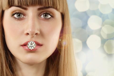 Diamond Nose Rings: April's Birthstone