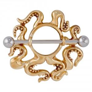 gold-octopus-nipple-ring