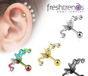 helix cartilage piercing
