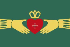 Irish Claddagh symbol