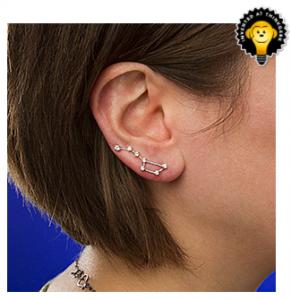 Think Geek Big Dipper constellation earrings