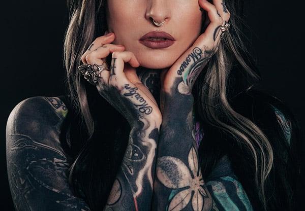 Medusa and septum piercing
