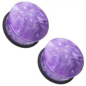 Moondevite Stone Single Flare Plugs