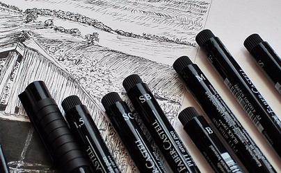 Inktober Ink Art Sketch