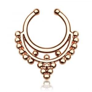 Septum Ring Septum Piercing Septum Body Jewelry FreshTrends Septums Faux Septum Fake Septum