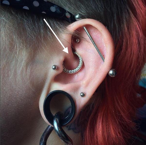 FreshTrends daith piercing