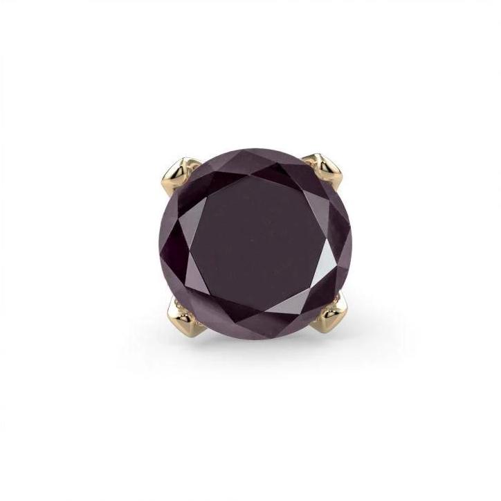 black diamond nose stud by FreshTrends