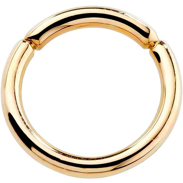 14K Gold Segment Ring by FreshTrends