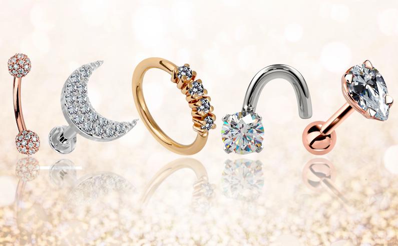 diamond body jewelry
